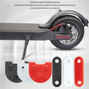 Rear mudguard rise support pad