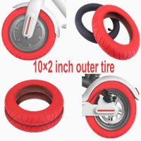 "Replacement Xiaomi M365 10"" Tire Red"