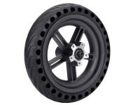 Rear wheel with solid tire for Xiaomi M365
